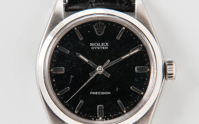 Rolex Stainless Steel Reference 6426 Wristwatch and Register Guarantee