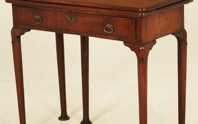 18TH C. QUEEN ANNE GAMES TABLE