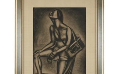 """GEORGES ROUAULT (french, 1871–1958) """"SUNT LACRYMAE RERUM"""" plate xxvii..."""