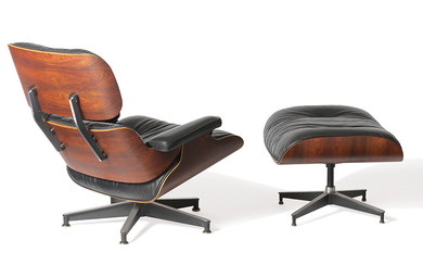 Charles & Ray Eames - Charles & Ray Eames: Lounge chair and ottoman (2)