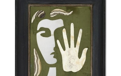 Richard Blow, Untitled (Face with hand)