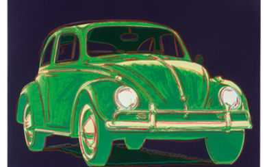 Andy Warhol - Andy Warhol: Volkswagen (from Ads)