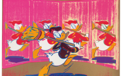 Andy Warhol - Andy Warhol: The New Spirit (Donald Duck) (from Ads)