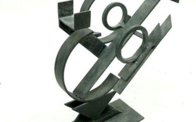 "Garcia ""Eros"" Ironwork Abstract Sculpture"