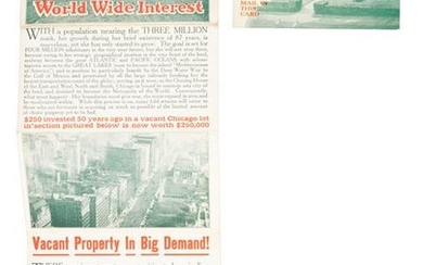 Invest in Chicago real estate, 1912