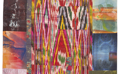 ROBERT RAUSCHENBERG (1925-2008), Samarkand Stitches III, from: Samarkand Stitches