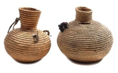 Two San Juan Olla Form Baskets
