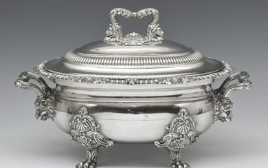Matthew Bolton Old Sheffield Silver Plate Soup Tureen