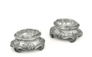 Two saltshakers, Genoa, late 18th century