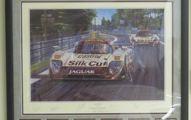 "After Nicholas Watts: ""Le Mans 1990"", limited edition number 16/500"