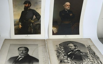 Sherman & Taft Lithographs with Others