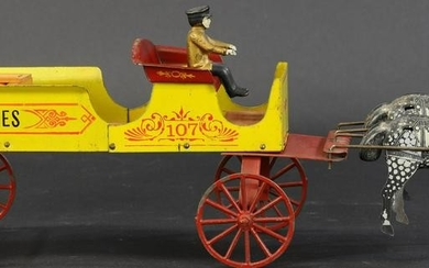 CONVERSE HORSE DRAWN GROCERY WAGON