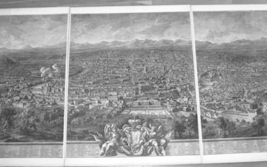 Vasi, Giuseppe: Prospect of the city of Rome from the Monte Gianicolo, Year 1765