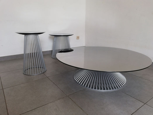 Giuseppe Vigano - Gamma Arredamenti - Coffee table, Dining table, Side table (3) - Gloss