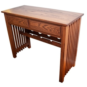 Lot Art Mission Style Console Table