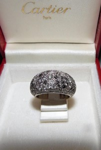 bague diamant or blanc cartier