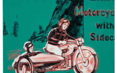 Andy Warhol - Andy Warhol: Motorcycle with Sidecar (from Toys Series)