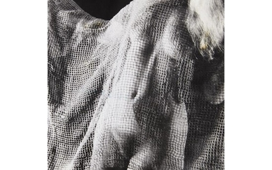 JULIUS ANDRES NUDE WITH MESH NETTING Ca. 1930s. Photographer's...