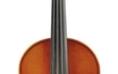 Modern Violin - Labeled SOLD BY/ OLE STEFFEN DAHL/ 300 SO. SWAIN/ BLOOMINGTON, INDIANA/ ANNO 1992, length of two-piece back 354 mm.