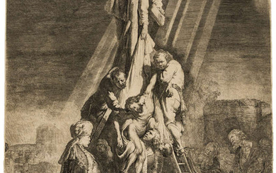 Rembrandt van Rijn (1606-1669) The Descent from the Cross: Second Plate