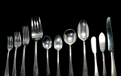 Rogers Silver-Plated Lovelace Pattern Flatware.