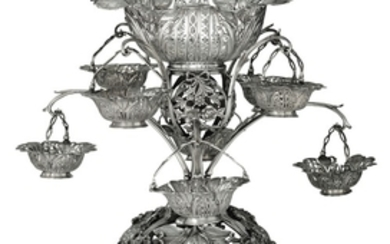 A silver centrepiece, T. Pitts, London 1768