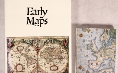 """NO RESERVE, """"[Lot of 2] Early Maps [and] Antique Maps"""""""
