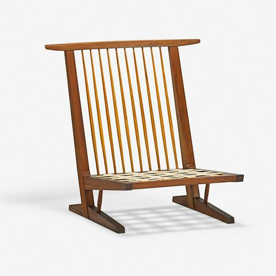 GEORGE NAKASHIMA Conoid Cushion Lounge Chair