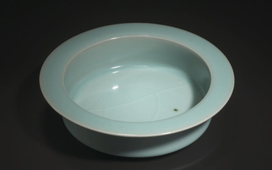 A RARE LONGQUAN CELADON BRUSH WASHER, XI, SOUTHERN SONG DYNASTY (1127-1279)