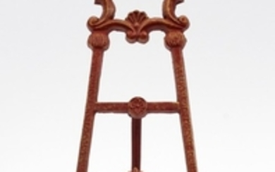 CAST IRON PAINTING EASEL 15