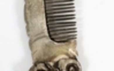 CHINESE STERLING SILVER COMB 1.25 1.15 TOZ