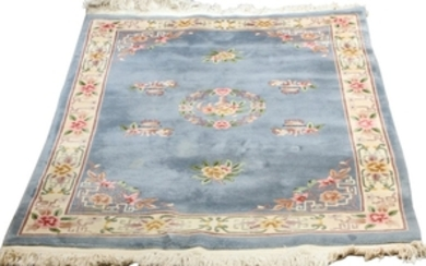 CHINESE WOOL HAND WOVEN RUG 11