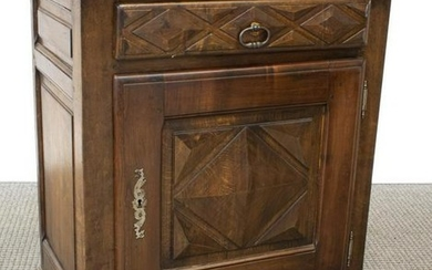 FRENCH LOUIS XIII STYLE WALNUT CONFITURIER CABINET