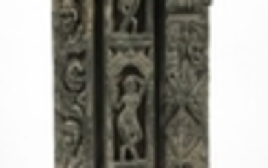 HAND CARVED TEMPLE PIECE 30