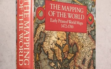 """""""The Mapping of the World - Early Printed World Maps 1472-1700"""", Shirley, Rodney W."""