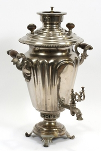 ANTIQUE RUSSIAN SAMOVAR C. 1898 20 DIA 13