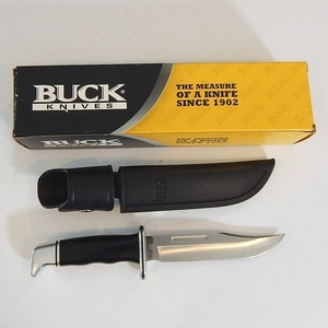 Buck 119 Special Fixed Blade Knife with Leather Sheath and Box