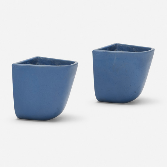 Malcolm Leland, Domino planters model DB-2, pair