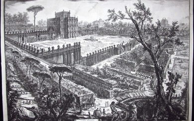 Piranesi, Giovanni: THE VILLA PAMPHILI, Year I776.