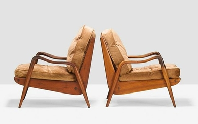 PHIL POWELL Pair of New Hope chairs