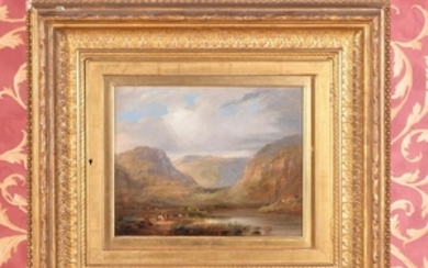 Anthony Vandyke Copley Fielding (British 1778-1855) View of Snowdon