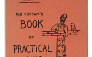 ELIOT, T.S. Old Possum's Book of Practical...