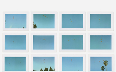 John Baldessari, Throwing Three Balls in the Air to Get a Straight Line (Best of Thirty-Six Attempts)