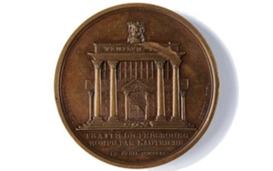 """MEDAL """"END OF THE PEACE OF PRESSBURG"""""""