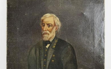 Oil on Canvas Portrait of a 3-Star General