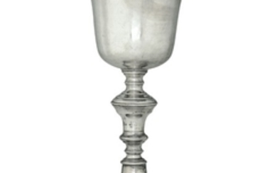 A silver goblet, Florence, mid 18th century