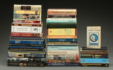 Large Lot of American Military History Books.