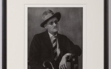 ABBOTT, BERENICE (1898-1991) James Joyce,