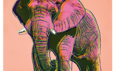 Andy Warhol - Andy Warhol: African Elephant (from Endangered Species Portfolio)