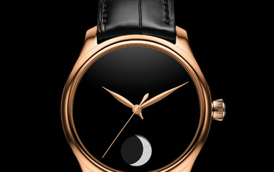 H. MOSER & CIE ENDEAVOUR PERPETUAL MOON CONCEPT ONLY WATCH Fascinating and mysterious, the Endeavour Perpetual Moon Concept Only Watch with Vantablack dial reinterprets the moon phase in an understated and resolutely modern way, highlighting the...